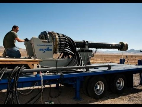 U.S. Military's Most Powerful Cannon – Electromagnetic Railgun – Shoots 100 miles – Mach 7