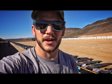 Shooting 1000 Guns AT ONE TIME!!! World Record!