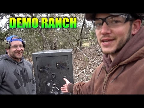 The Toughest Gun Safe with Furious Pete