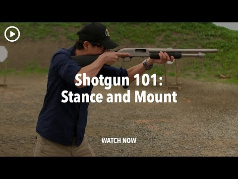 Shotgun Stance and Mount – Shotgun 101 with Top Shot Chris Cheng