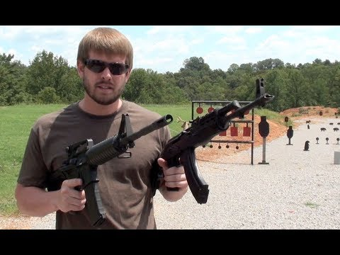 AK47 VS. AR15 – SPEED SHOOT