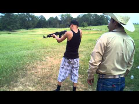 Shooting AK47