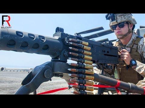 The Weapon M240B Machine Gun Can Destroy an Enemy Entire Army