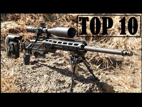 Top 10 Deadliest Sniper Rifles In The World 2018 (With their Videos)