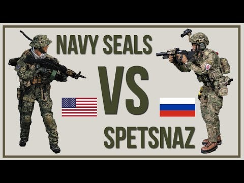 US Navy Seals VS Russian Spetsnaz – Special Forces Comparison