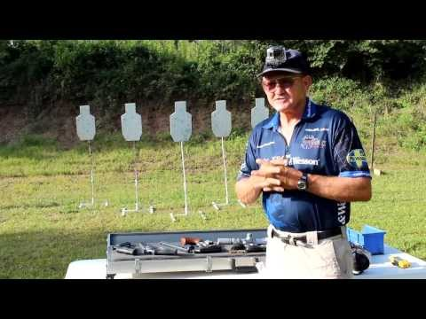 S&W 629 .44 Magnum 6 shots in 1 SECOND with Jerry Miculek!
