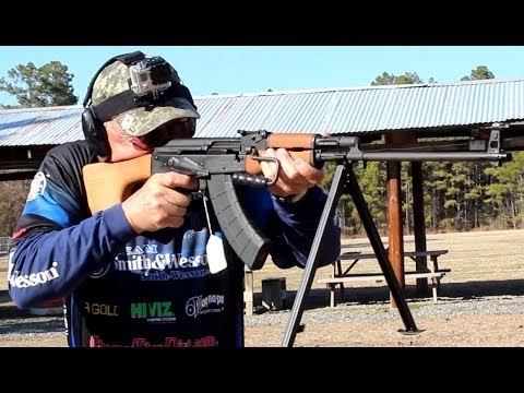 AK47 (RPK) 30 rounds in under 5 seconds with new Magpul PMAG 7.62×39