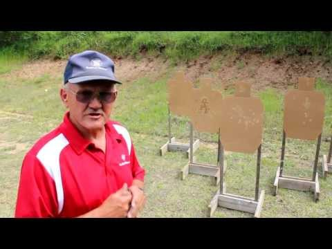 FN FAL Close Quarters 'V-Drill' with world record shooter, Jerry Miculek