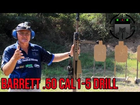 VTAC 1-5 drill with Barrett .50 cal in 2.17 seconds! (Answer to Steve Fisher's 4.68 second time)