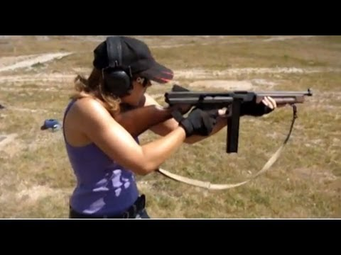 Girl Shooting Properly! | Manca of Polenar Tactical