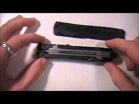 The Inside Of A Microtech Ultratech & How It Works
