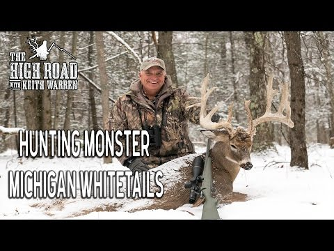 Hunting Massive Michigan Whitetails in the Snow