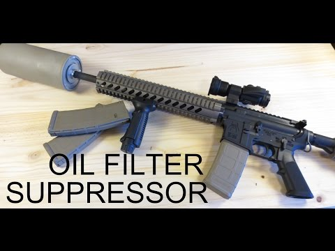 HOW TO BUILD AN AMAZING OIL FILTER SUPPRESSOR FOR UNDER $30