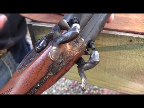 Pedersoli Classic Side-by-Side Black Powder Shotgun