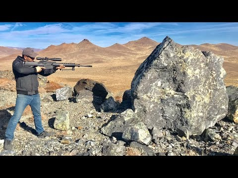 50CAL VS GIANT ROCK
