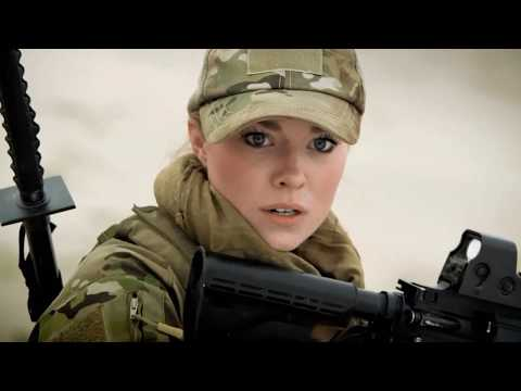 Beautiful Military Women Shooting hot Girls Guns Army Female soldiers Beauty uniforms weapons fire