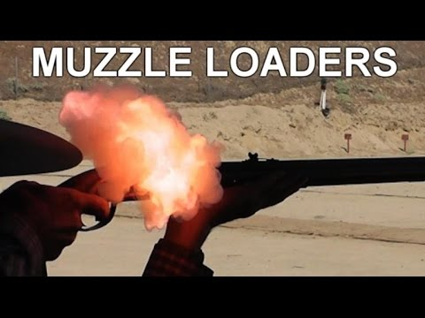 Black Powder Muzzleloader Rifles – Slo-Mo Study