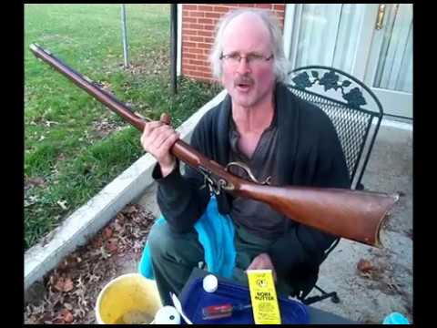 How to Clean a Black Powder Gun