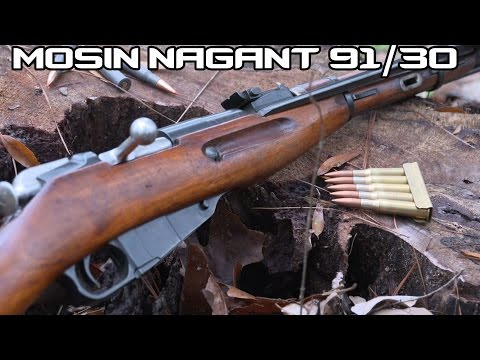Mosin Nagant Carbine up to 300 yards! (4K)
