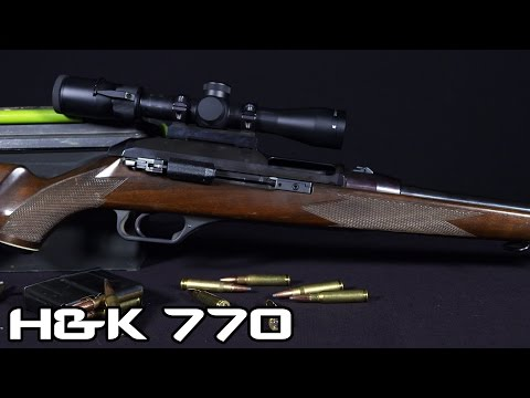 H&K 770 .308 Sporting Rifle (4K)