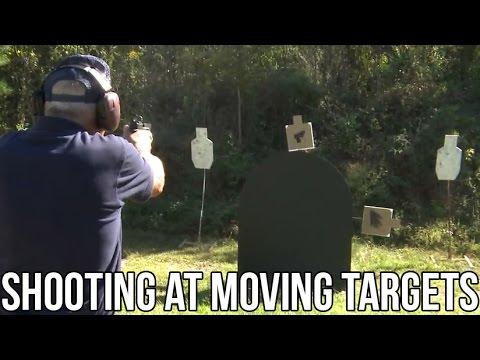Rifle & Pistol training on Moving Targets! (TARGABOT)