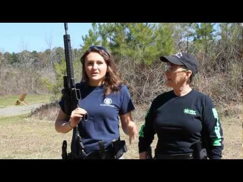 Basic Rifle Shooting Positions 'How to' with Lena & Kay Miculek