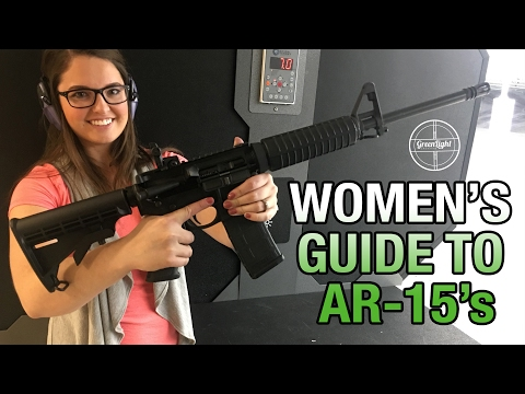 A Woman's Guide to an AR-15 – Basic Overview & How to Shoot