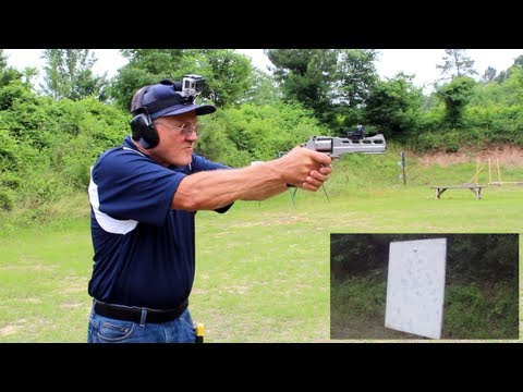 6 shots in 1 second with a Chiappa Rhino Revolver