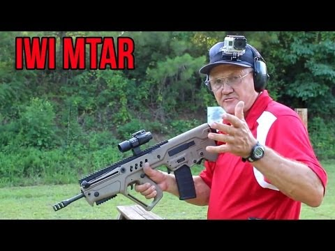 IWI TAVOR – 40 rounds in 6 seconds with Jerry Miculek