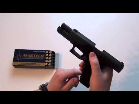 How to load and unload a Glock pistol