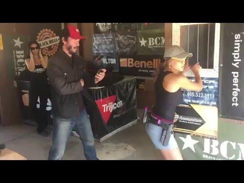 Keanu training Tori & Taran