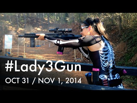 Brownells Lady3Gun & Happy Hallowen! Jessica Hook