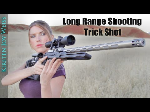 Long Range TRICK SHOT – STANDING Position! – EGG (Crazy TINY Target)