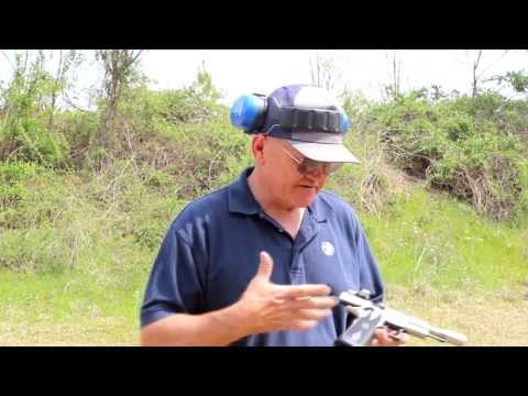 27 rounds in 3.7 seconds with a 1911 pistol with World Record shooter, Jerry Miculek