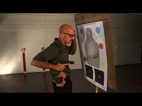 Close Quarters Shooting: Handgun Drawing | Personal Defense Network