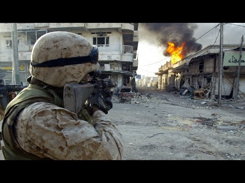 U.S. MARINES IN IRAQ. REAL COMBAT – HEAVY CLASHES | WAR IN IRAQ