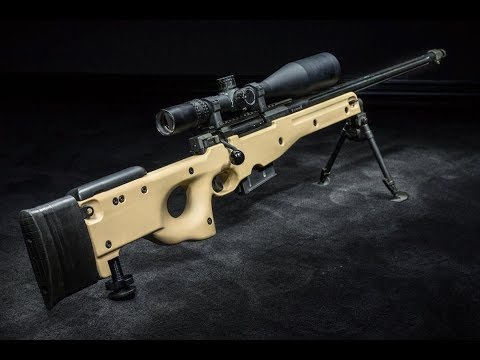 Accuracy International AWM .300 Win Mag Review & Shooting