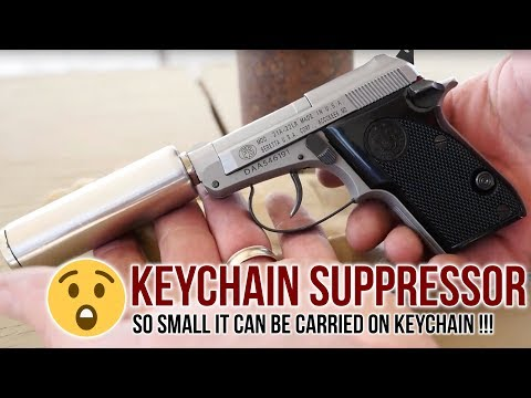 Keychain Suppressor | Beretta 21A 'Hush Puppy' & Armtac's Covert Suppressor