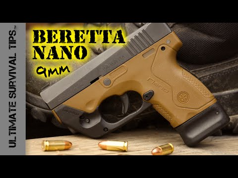 Beretta Nano Pocket Pistol – Review – Best Mini 9mm Handgun for Survival / Bug Out / Self Defense?