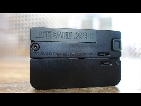 LifeCard 22lr Pistol – World's Smallest Pistol?