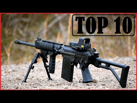 Top 10 World's Most Powerful Guns 2018 (With their Videos)
