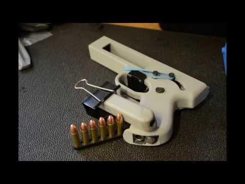 Songbird 3D Printed Pistol – .357 Magnum