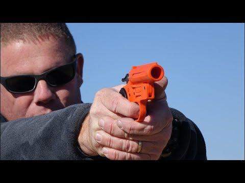 Live Shotgun Shell in flare pistol – What happens?