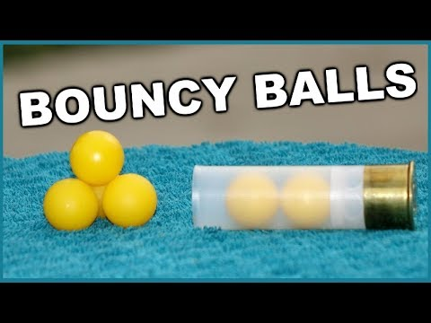 Double Bouncy Reball Shotgun Rounds
