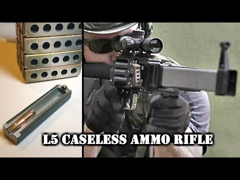 Forward Defense Munitions L5 Caseless Ammo Rifl
