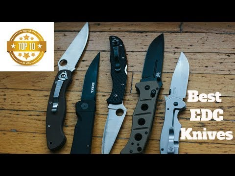 *** Best EDC Knives 2018 *** ( In Depth Review 2018)