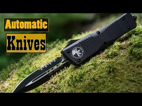 Top 10 Coolest Automatic Knives | Best Spring Assisted Knife |