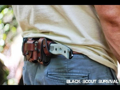 Black Scout Reviews – Hedgehog Leatherworks ESEE-5 Sheath