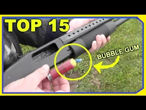 TOP 15 Oddest Shotgun Rounds – THAT ACTUALLY WORKED!
