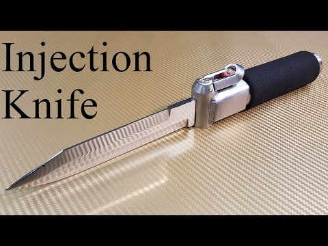 Making a CO2 Gas Injection Knife